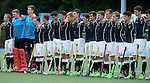 GER - Mannheim, Germany, May 16: During the whitsun tournament boys hockey match between Germany (black) and The Netherlands (orange) on May 16, 2016 at Mannheimer HC in Mannheim, Germany. Final score 4-3 (HT 2-0). (Photo by Dirk Markgraf / www.265-images.com) *** Local caption ***