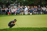 Dustin Johnson (USA) lines up his putt on 5 during Rd3 of the 2019 BMW Championship, Medinah Golf Club, Chicago, Illinois, USA. 8/17/2019.<br /> Picture Ken Murray / Golffile.ie<br /> <br /> All photo usage must carry mandatory copyright credit (© Golffile   Ken Murray)