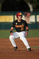 Jarrett Pico #26 of the Southern California Trojans runs the bases during a game against the Coppin State Eagles at Dedeaux Field on February 18, 2017 in Los Angeles, California. Southern California defeated Coppin State, 22-2. (Larry Goren/Four Seam Images)