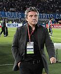 Bogotá- Indepentiente Santa Fe venció 1 gol por 0 a Millonarios, en el partido correspondiente a la séptima fecha del Torneo Clausura 2014, desarrollado en el estadio Nemesio Camacho 'El Campín'. Juan Manuel Lillo Técnico de Millonaarios.