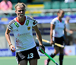 The Hague, Netherlands, June 13: Katharina Otte #13 of Germany looks on during the field hockey placement match (Women - Place 7th/8th) between Korea and Germany on June 13, 2014 during the World Cup 2014 at Kyocera Stadium in The Hague, Netherlands. Final score 4-2 (2-0)  (Photo by Dirk Markgraf / www.265-images.com) *** Local caption ***