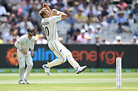 27th December 2019; Melbourne Cricket Ground, Melbourne, Victoria, Australia; International Test Cricket, Australia versus New Zealand, Test 2, Day 2; Neil Wagner of New Zealand bowls - Editorial Use