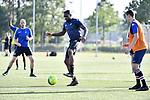 2018-06-26 / Voetbal / Seizoen 2018-2019 / Eerste training KFC Turnhout / Junior Ebobo is een van de nieuwkomers<br /> <br /> ,Foto: Mpics