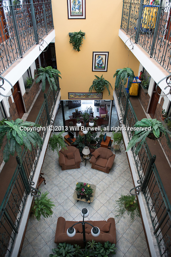 Interior Hotel Inca Real San Jose Costa Rica