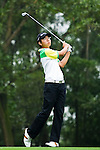 Edgar Oh of Singapore tees off during the 2011 Faldo Series Asia Grand Final on the Faldo Course at Mission Hills Golf Club in Shenzhen, China. Photo by Raf Sanchez / Faldo Series