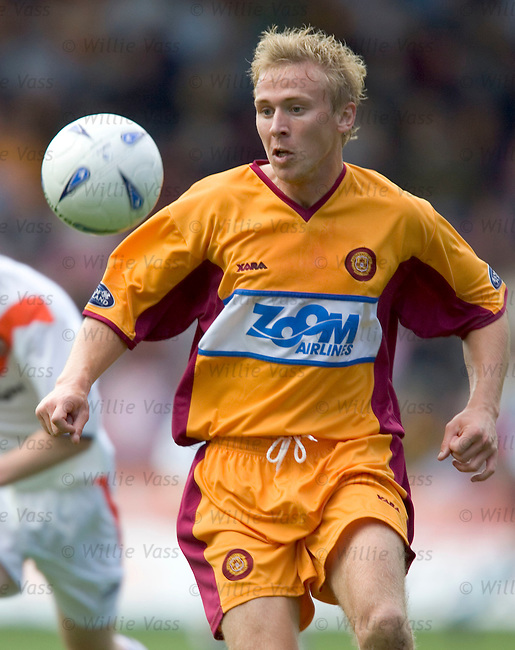 Richie Foran, Motherwell.stock season 2004-2005.pic willie vass