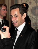Washington, D.C. - March 30, 2010 -- President Nicolas Sarkozy of France arrives to visit United States Senator John F. Kerry (Democrat of Massachusetts), Chairman, U.S. Senate Foreign Relations Committee in the U.S. Capitol on Tuesday, March 30, 2010..Credit: Ron Sachs / CNP