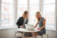 Victoria Firth and Rhonda Curliss founders of Grey Lemon, London, England, UK