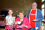 Lily Jordan, Judy Carroll and Ronnie Van den Berg at the MS Coffee Morning on St. Peter's Church Hall. www.newsfile.ie