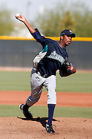 Miguel Celestino - Seattle Mariners 2009 Instructional League. .Photo by:  Bill Mitchell/Four Seam Images..