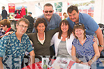 3037-3042.---------.Parade Ring.-----------.Relaxing in the hospitality tent at the Dingle races last Saturday afternoon were Tralee group L-R Owen Corridan,Deirdra&Richard O Shea,Bernadette Corridan and Vince&Ann Sheehy.