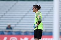 Cary, North Carolina  - Saturday June 03, 2017: Nicole Barnhart during a regular season National Women's Soccer League (NWSL) match between the North Carolina Courage and the FC Kansas City at Sahlen's Stadium at WakeMed Soccer Park. The Courage won the game 2-0.