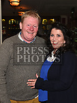 Mossie and caroling Grogan at the launch of Newtown Blues Strictly Come Dancing in Garvey's. Photo:Colin Bell/pressphotos.ie
