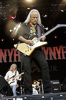 Guitar player Mark Matejka and Rickey Medlocke of Lynyrd Skynyrd during a concert at Citadel Music Festival held at Citadel Spandau in Berlin, Germany, 07.06.2012...Credit: Cliff/face to face /MediaPunch Inc. ***FOR USA ONLY*** /NORTEPHOTO.COM