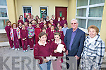 MISSION: Pupils at St Joseph's national school in Ballybunion who were actively involved in last week's parish mission, including front l-r: I?sla O'Connor, Hannah Walsh, Fr Tadhg Herbert, Carmel Guiney (Principal).