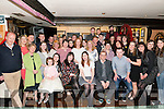 Triple celebrations: Niamh Collins and Catherine Allman from Killarney celebrating their going away party and Sharon Allman also from Killarney celebrating her 30th birthday with friends and family in the Squires Bar, Killarney last Saturday night.