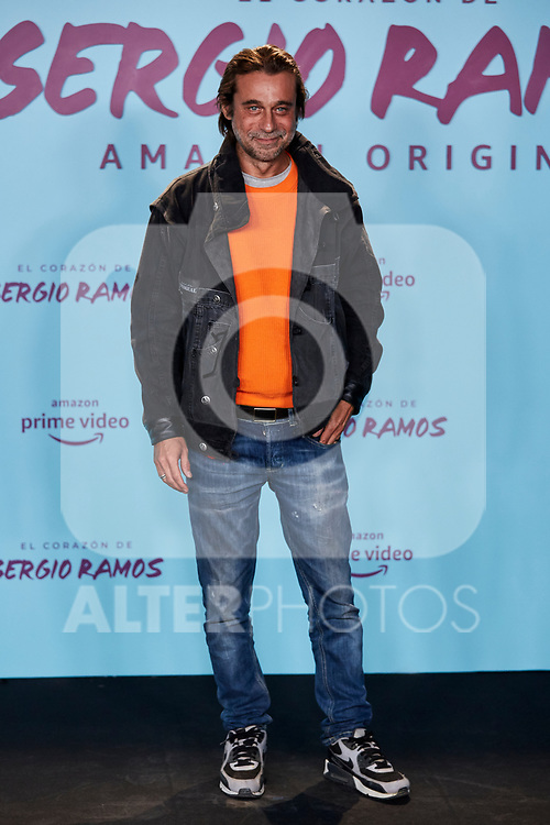 "Jordi Molla attends to ""El Corazon De Sergio Ramos"" premiere at Reina Sofia Museum in Madrid, Spain. September 10, 2019. (ALTERPHOTOS/A. Perez Meca)"