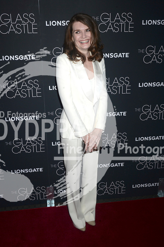 Jeannette Walls bei der Premiere des Kinofilms 'The Glass Castle / Schloss aus Glas' im SVA Theater. New York, 09.08.2017