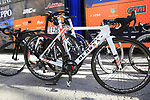 Nippo-Vini Fantini-EUR.OV. De Rosa bikes lines up before the start of Strade Bianche 2019 running 184km from Siena to Siena, held over the white gravel roads of Tuscany, Italy. 9th March 2019.<br /> Picture: Eoin Clarke | Cyclefile<br /> <br /> <br /> All photos usage must carry mandatory copyright credit (&copy; Cyclefile | Eoin Clarke)
