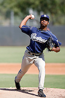 Keyvius Sampson - San Diego Padres 2009 Instructional League.Photo by:  Bill Mitchell/Four Seam Images..