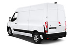 Car pictures of rear three quarter view of a 2020 Renault Master Confort 4 Door Cargo Van angular rear