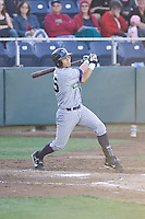 July 16, 2008:  Emmanuel Quiles of the Eugene Emeralds at-bat during a Northwest League game against the Everett AquaSox at Everett Memorial Stadium in Everett, Washington.