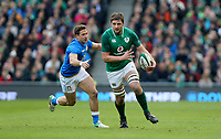 Saturday 10th February 2018 | Ireland vs Italy<br /> <br /> Iain Henderson during the Six Nations Rugby Championship match between Ireland and Italy at the Aviva Stadium, Lansdowne Road,  Dublin Ireland. Photo by John Dickson / DICKSONDIGITAL