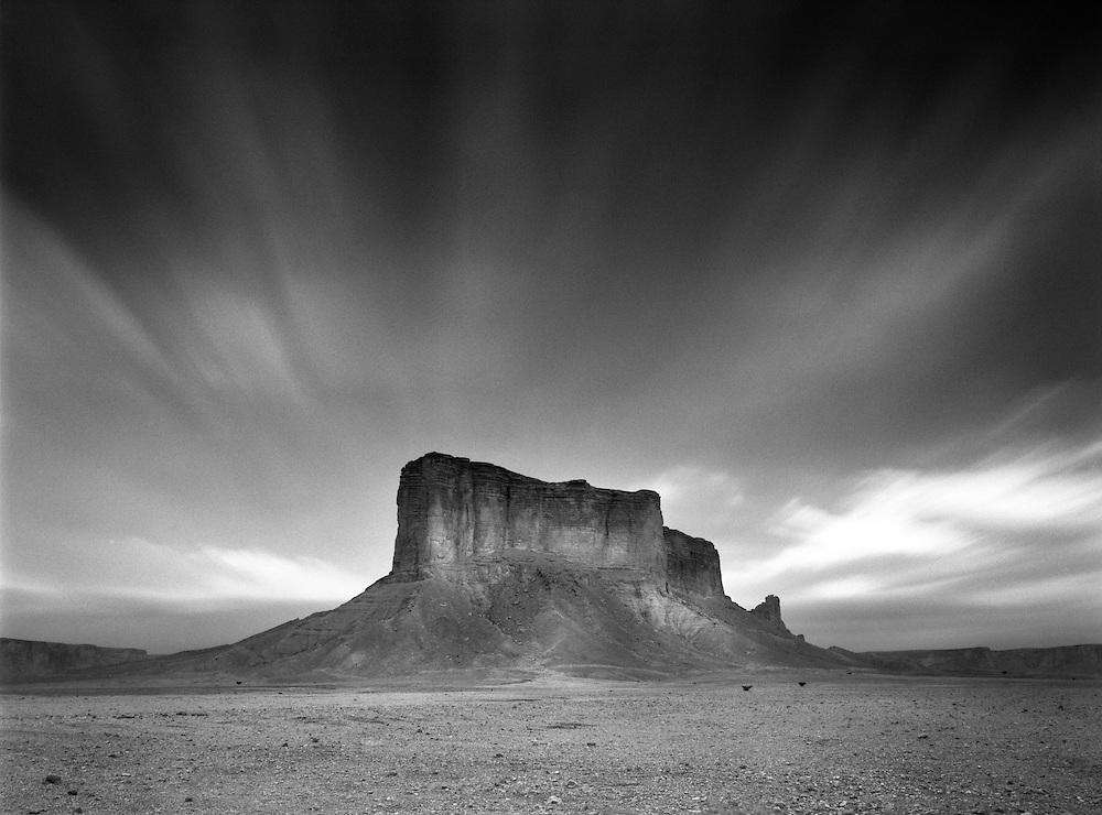 Tuwaig Mountains, Riyadh, Saudi Arabia, Contax 645, Kodak T