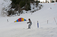 Skiing with Lucas and Felix in Mountain High, Californai