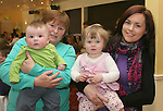 Martina Ryan, Charlie McQuillan, Jody Darcy and Suzanne Costello at the Coffee Morning in the Glenside in aid of Jack and Jill Foundation and S.O.F.T Ireland...Photo NEWSFILE/Jenny Matthews.(Photo credit should read Jenny Matthews/NEWSFILE)....This Picture has been sent you under the condtions enclosed by:.Newsfile Ltd..The Studio,.Millmount Abbey,.Drogheda,.Co Meath..Ireland..Tel: +353(0)41-9871240.Fax: +353(0)41-9871260.GSM: +353(0)86-2500958.email: pictures@newsfile.ie.www.newsfile.ie.FTP: 193.120.102.198.