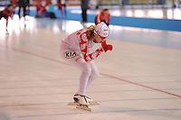 SCHAATSEN: ERFURT: Gunda Niemann-Stirnemann Halle, 02-03-2013, Essent ISU World Cup, Season 2012-2013, ©foto Martin de Jong
