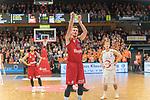 10.03.2019, RASTA Dome 2.0, VECHTA, GER, easycredit-bbl, RASTA Vechta vs  FC Bayern M&uuml;nchen, im Bild<br /> <br /> Leon Rado&scaron;ević / Radosevic (Bayern Muenchen BBL #10)<br /> <br /> Foto &copy; nordphoto / Kokenge