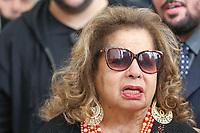 ***ATENCAO EDITOR FOTO ARQUIVO *** Morre a cantora Angela Maria aos 89 anos<br /> Internada havia mais de um mês na cidade de Sao Paulo e não resistiu a uma infecção generalizada neste domingo 30. (Foto: Vanessa Carvalho/Brazil Photo Press) *** ATENCAO EDITOR FOTO ARQUIVO ***<br /> <br /> SÃO PAULO,SP, 16.05.2016 - MORTE-CAUBY - A cantora Angela Maria se emociona no velório do cantor Cauby Peixoto na Assembleia Legislativa de São Paulo (Alesp), na zona sul da capital paulista, nesta segunda-feira, 16. Cauby morreu na noite deste domingo, 15, aos 85 anos. Ele estava internado no Hospital Santa Maggiori, no Itaim Bibi, para tratar quadro de pneumonia. (Foto: Vanessa Carvalho/Brazil Photo Press)