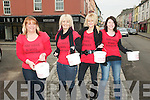 Charity run: Collecting for the Nano Nagle School Motor Cycle Run in Listowel on Saturday  were Carol White, Michelle halpin, Jacqulinw Halpin & Noreen Curtin