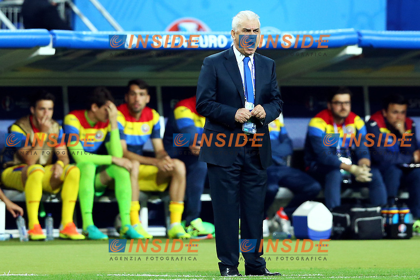 Anghel Iordanescu Romania <br /> Paris 10-06-2016 Stade de France football Euro2016 France - Romania  / Francia - Romania Group Stage Group A. Foto Matteo Ciambelli / Insidefoto