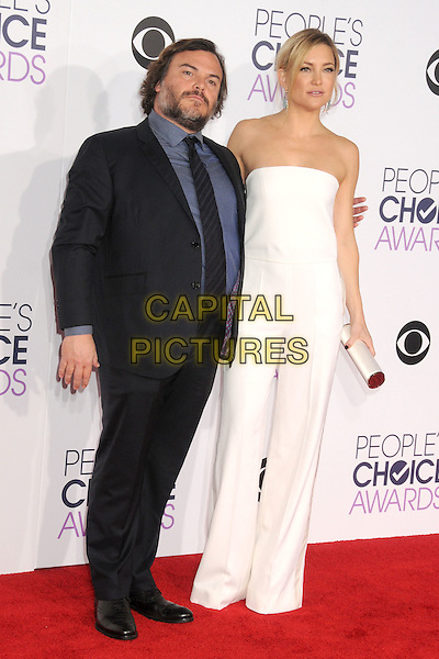 6 January 2016 - Los Angeles, California - Jack Black, Kate Hudson. People's Choice Awards 2016 - Arrivals held at The Microsoft Theater. <br /> CAP/ADM/BP<br /> &copy;BP/ADM/Capital Pictures