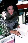 Diahann Carroll in New York City in 1986.