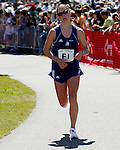 Roger Crowley/Times Argus.Two-time defending champion Heidi Westerling of New Hampshire placed third in the 20th Annual KeyBank Vermont City Marathon Sunday in Burlington.