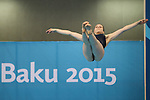 19/06/2015 - Diving - Baku Aquatics Centre - Baku - Azerbaijan