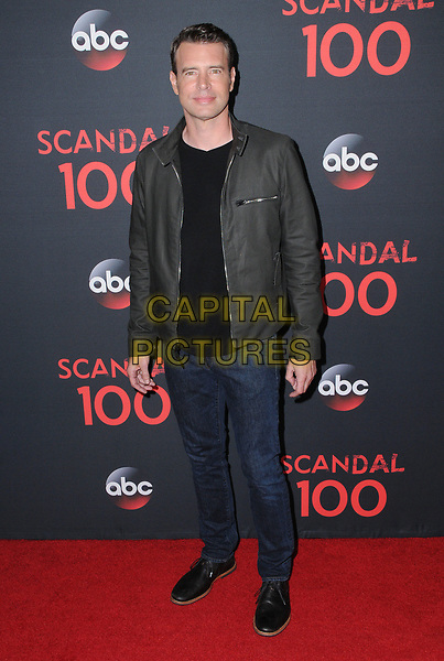 08 April 2017 - West Hollywood, California - Scott Foley. ABC's 'Scandal' 100th Episode Celebration held at Fig &amp; Olive in West Hollywood.   <br /> CAP/ADM/BT<br /> &copy;BT/ADM/Capital Pictures