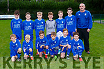 The Killarney Athletic team that played St Brendan's Park in Woodawn on Saturday in the u12 National cup