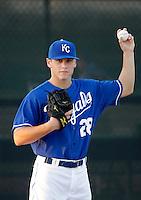 Chris Dwyer - AZL Royals (2009 Arizona League) .Photo by:  Bill Mitchell/Four Seam Images..