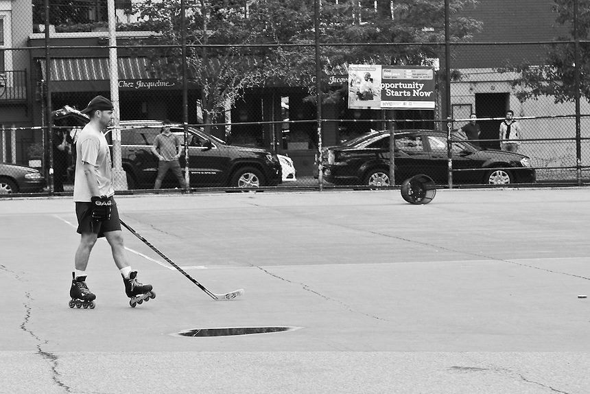 Street Hockey, New York