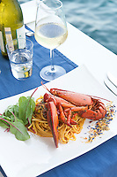 Restaurant Scoglitti - Fettucine with Lobster, Valletta, Malta