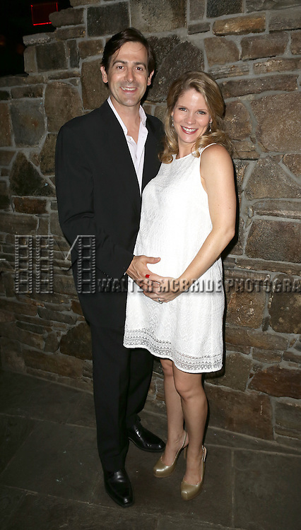 Greg Naughton, Kelli O'Hara attending the Opening After Party for the Playwrights Horizons World Premiere production of the new musical 'FAR FROM HEAVEN' at Tir Na Nog Irish Pub & Grill  in New York City on June 02, 2013.