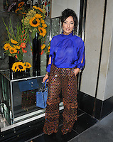 Nancy Dell'Olio at the Limonbello new Italian liquor launch party, The Club at The Ivy, West Street, London, England, UK, on Wednesday 20 July 2016.<br /> CAP/CAN<br /> &copy;CAN/Capital Pictures /MediaPunch ***NORTH AND SOUTH AMERICAS ONLY***
