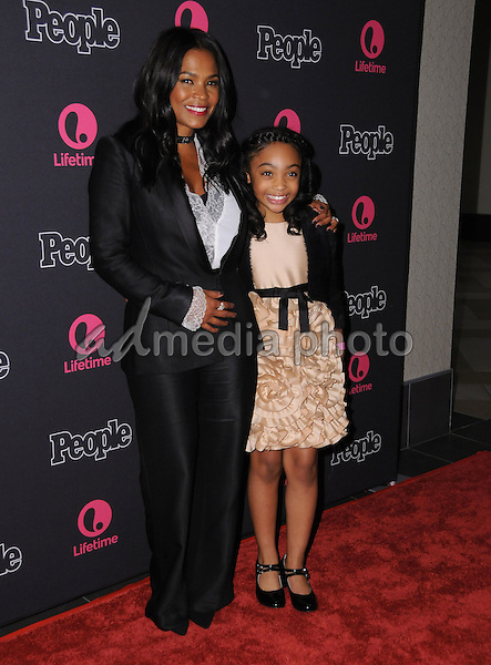 "13 January 2017 - Los Angeles, California - Nia Long, Sanai Victoria. ""Beaches"" Los Angeles Premiere held at the Regal LA Live Theater. Photo Credit: Birdie Thompson/AdMedia"