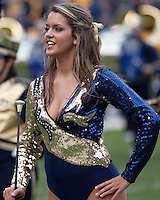 Pittsburgh majorette. The Pittsburgh Panthers defeated the South Florida Bulls 41-14 at Heinz Field, Pittsburgh, PA on October 24, 2009.