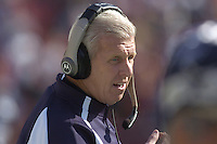 05 November 2006:  Cowboys head coach Bill Parcells (The Tuna).  .The Washington Redskins defeated the Dallas Cowboys 22-19 at FedEx Field in Landover, MD.