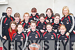 The talented St Mary's team at the girls basketball community games in Castleisland Community Centre on Saturday front row l-r: Denise Dunlea, Aoife Nolan, Roisin O'Connor, Amy Reidy. Back row: Joanne Walmsley, Laibhaoise Walmsley, Chloe Kelleher, Nora O'Donoghue, Samantha Roche, Catherine O'Connor, Neassa Sheehy, Elaine Doody and Joanne Downey   Copyright Kerry's Eye 2008